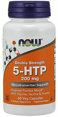 $ CDN83.22 • Buy NOW Foods 5-HTP, 200 Mg, 60 Veg Capsules