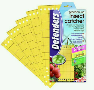 £5.65 • Buy Defenders Greenhouse Insect Catcher Killer, Poison Free - Pack Of 5