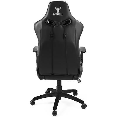AU279 • Buy NEW BattleBull Arrow Gaming Chair Black/White BB-632463
