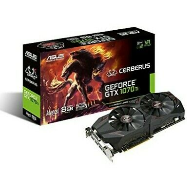 $ CDN654.19 • Buy ASUS GeForce GTX 1070 TI Cerberus 8GB Gaming Graphics Card