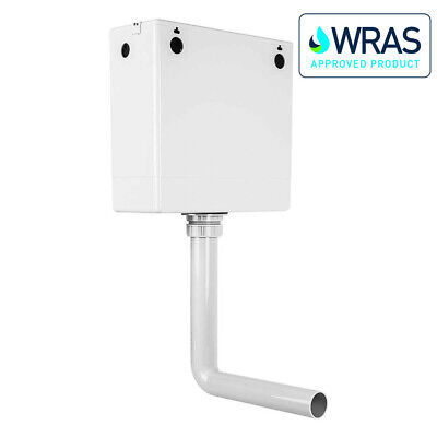 BTW Toilet Concealed Cistern With Compact Dual Flush Top Access Wras Approved • 49.99£