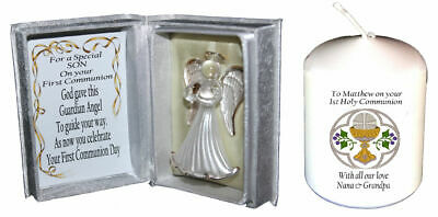 Son Creative First Holy Communion Gift Idea Free Communion Candle  • 19.99£