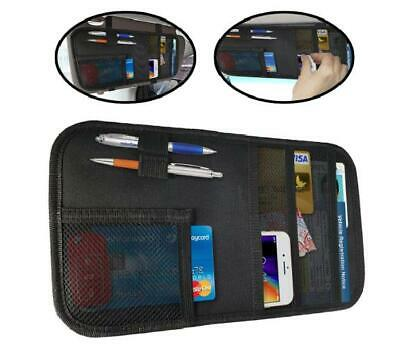 $15.55 • Buy Car Organizer Sun Visor Document Holder Vehicle SUV Interior Pocket Accessories