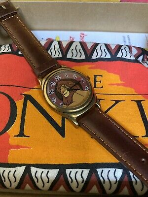$229.95 • Buy Vintage DISNEY Limited Edition THE LION KING Fossil Watch NIP W/ Tags