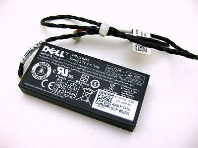 $37.69 • Buy Genuine DELL FR463 Battery 0NU209 NU209 3.7V +Cable For H700 PERC 5i 6i L