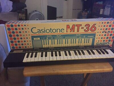 $99.99 • Buy Casio Casiotone MT-36 26 Key Keyboard With Original Box Open Box Never Used!