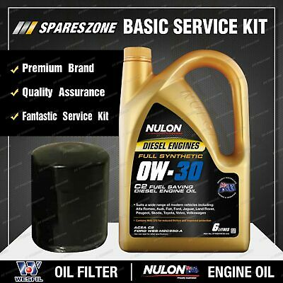 AU84.56 • Buy Wesfil Oil Filter + 6L SYND0W30 Oil Service Kit For Subaru Forester S4 SH9 2.0L