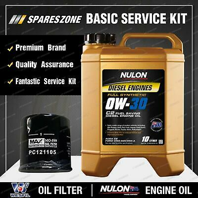 AU128.75 • Buy Wesfil Oil Filter+ 10L SYND0W30 Oil Service Kit For Hilux GUN122 123 125 126 136