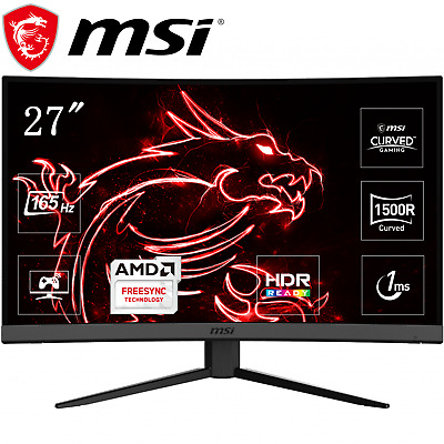 AU369 • Buy MSI 27  Gaming Monitor OPTIX MAG272C VA FHD 1080P Curved LED 165Hz FreeSync PC