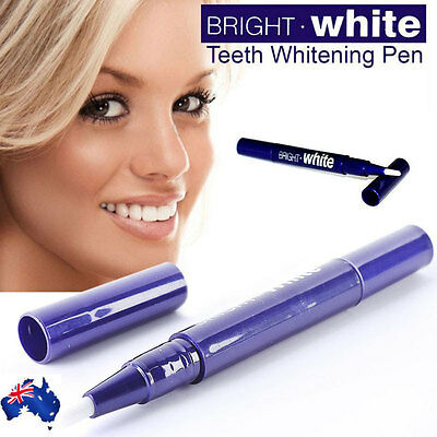 AU8.05 • Buy Professional BRIGHT WHITE Teeth Whitening Pen Tooth Gel Whitener Bleaching Kit