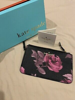 AU19.50 • Buy Kate Spade Wrist Pouch Floral - Brand New In Box