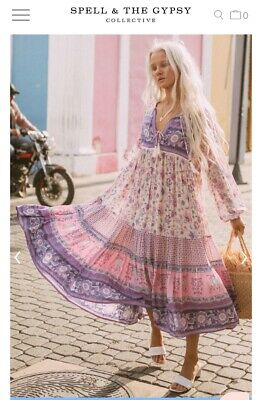 AU300 • Buy Spell Gypsy Size Small Portobello Road Boho Dress BNWT Sold Out! 💞