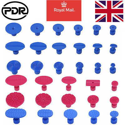 33pcs PDR Tools Glue Pulling Puller Tabs Car Body Paintless Repair Dent Removal • 9.20£