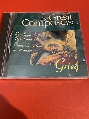 £2.20 • Buy GRIEG - PEER GYNT Suites 1 & 2 & PIANO CONCERTO (The Great Composers CD Series)