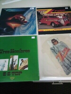 AU70 • Buy Zz Top Vinyl Records X3 (Afterburner Is Sold)