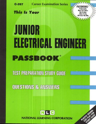 £30.89 • Buy National Learning Corporation-Junior Electrical Engineer BOOK NEW