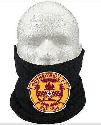 Motherwell FC Scotland Support Scarf Snood Neck Warmer Adult Kids New • 9.99£