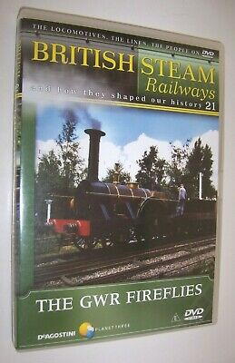 British Steam Railways DVD (No.21) GWR Fireflies Locomotives • 1.99£