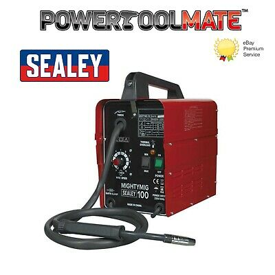 Sealey MIGHTYMIG100 Professional No-Gas MIG Welder 100Amp 230V • 137.99£