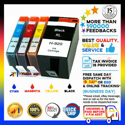 AU19.50 • Buy Any NoN-OEM 920XL 920 Ink Cartridge For HP Officejet 6000 6500 7000 6500A 7500A