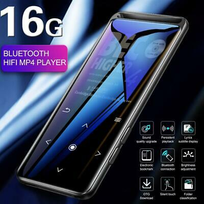 Bluetooth 5.0 MP3 PlayerPortable Lossless HiFi Audio Player FM Radio MP4 Player • 18.99£