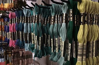 AU30.10 • Buy 32 X DMC Skeins Thread Stranded Cotton Floss Choose Your Colours - Cross Stitch
