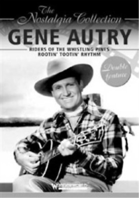 Gene Autry, Patricia Barry-Riders Of The Whistling Pines/Rootin' Tootin' DVD NEW • 7.67£