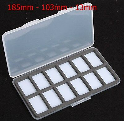 Slimline Magnetic WA 12 Compartment Fly Box  • 5.99£