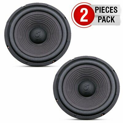 $ CDN34.08 • Buy 5 Core 8  Woofer 72mm Magnet 400W PMPO Black Replacement Car HOME Dj Audio PAIR