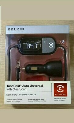 Belkin Tunecast Auto Universal FM Transmitter With ClearScan For MP3 Players  • 19.99£