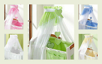 £4.99 • Buy CANOPY Drape To Fit Baby Swinging Crib/Cradle/Cot/Cot Bed 320cm Wide! S A L E!!!