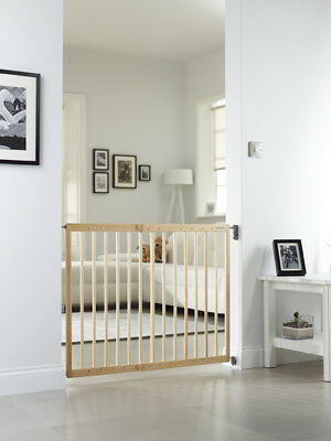 Lindam Extending Wooden Stair Gate • 41.99£