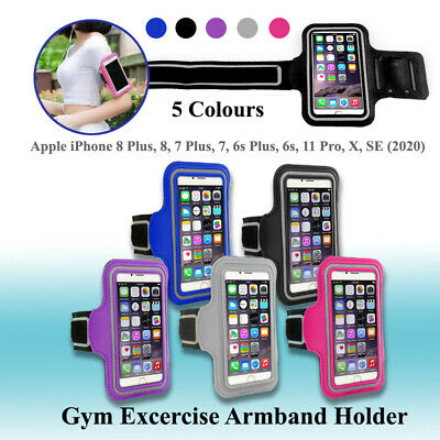 AU7.92 • Buy Armband Running GYM Sports Strap Case IPhone 11 Pro  / X / 7 / 8 / 8 Plus / 6