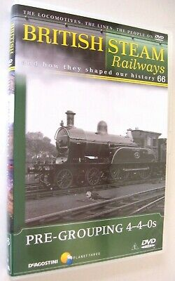 British Steam Railways DVD (No.66) Pre Grouping 4-4-0 Mixed Traffic Locomotives • 1.99£