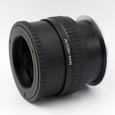 $37.70 • Buy M42-NEX/M Macro Adjustable Focusing Helicoid Adapter For M42 Lens To Sony E Moun
