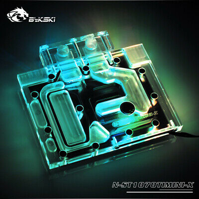 $ CDN147.64 • Buy GPU Water Cooling Block RGB Waterblock For ZOTAC GeForce GTX 1070Ti 8GB Mini