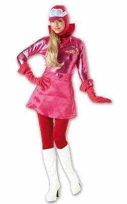 Ladies Penelope Pitstop Costume Official Wacky Races Small Adult Fancy Dress • 24.99£