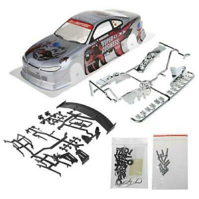 1PC 1/10 RC Car Body Shell Modification 190mm On Road Drift For Nissan S15 • 10.22£