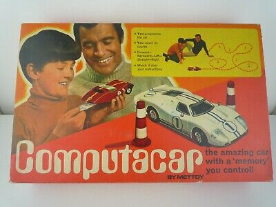 £29.99 • Buy Vintage Computacar Ford Gt40  By Mettoy Complete With Original Box