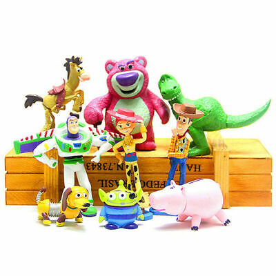 9x Collectibles Toys For Toy Story Buzz Lightyear Figure Gardening Fairies Toys • 16.72£