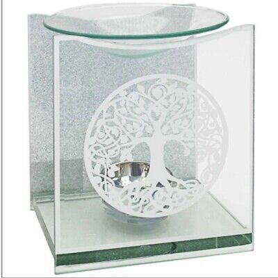 Tree Of Life Glass Oil Burner By Lesser & Pavey • 10£