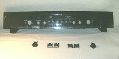 Bosch Dishwasher : Control Panel Cover W Buttons #00683943 (P2243) Black • 56.58£