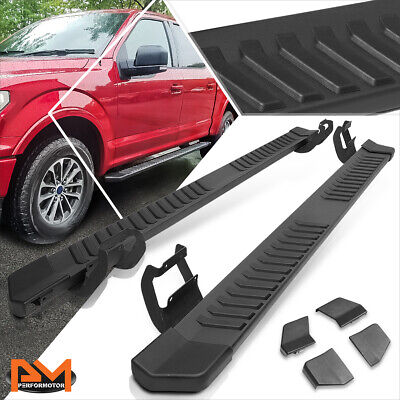 AU277.76 • Buy For 15-20 Ford F150/ F250 F350 SD Crew Cab 6  Step Nerf Bar Running Board Black