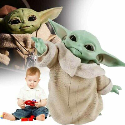 $12.99 • Buy New Baby Yoda Naughty The Mandalorian Child PVC Figure 8cm Star War Gifts Hot-
