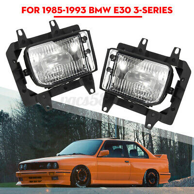 $47.99 • Buy 2x Front Bumper Driving Fog Light For BMW E30 318i 318is 325i 85-93 Clear
