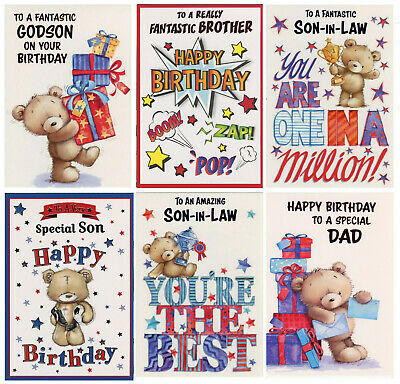 £1.69 • Buy Male Relations Birthday Card Various Designs  Great Value!