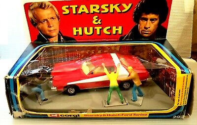 Corgi 292 Starsky & Hutch Ford Torino With Figs 1st Edition. Mint. Orig Box 1977 • 177.95£