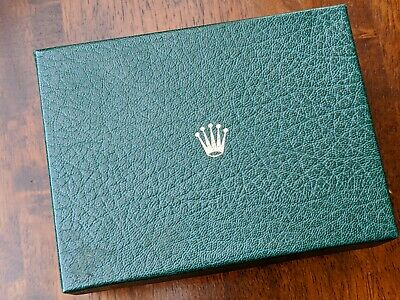 $ CDN401.79 • Buy Genuine And Original Vintage Rolex Bufkor USA Green And Gold Inner/Outer Box Set