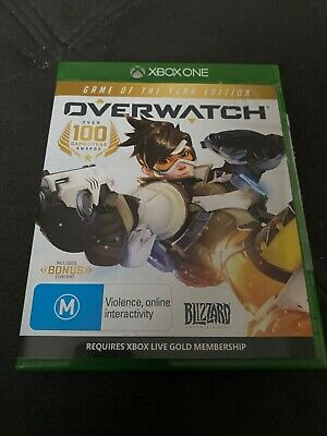 AU29 • Buy OverWatch Over Watch GOTY Game Of The Year Edition Xbox One New Registered