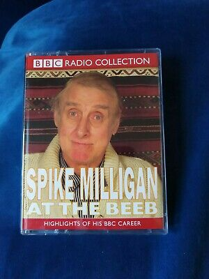 SPIKE MILLIGAN At The Beeb - Double Cassette - Audio Comedy  • 5£